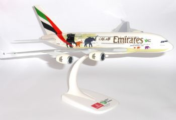 Airbus A380 Emirates Airline United For Wildlife Collectors Model Scale 1:250 E